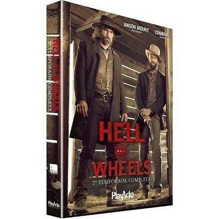DVD - Hell on Wheels - 2ª Temp - 3 Discos