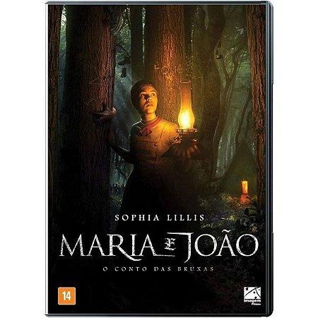 DVD - Maria e João: O Conto das Bruxas