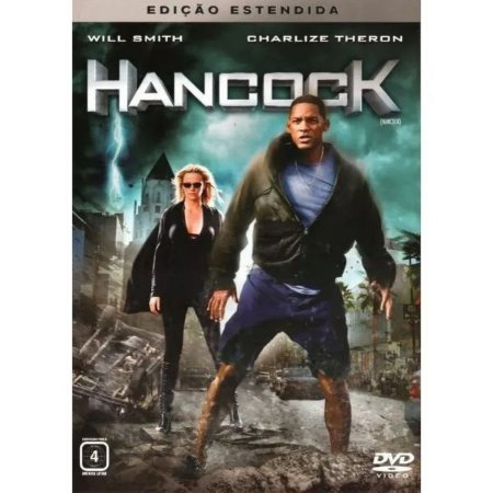Dvd Hancock - Ed Estendida - Will Smith