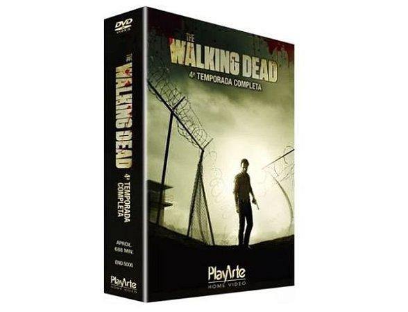 Box DVD - The Walking Dead - 4ª Temp - 5 Discos