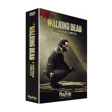 Box Dvd The Walking Dead 5 Temp - 5 Discos