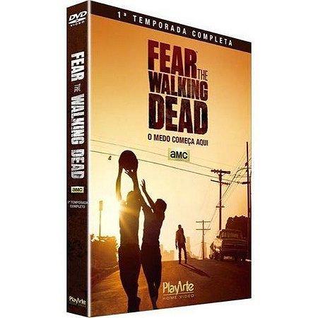 DVD Fear The Walking Dead - 1ª Temp - 2 Discos