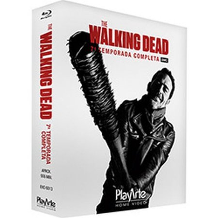Blu Ray The Walking Dead 7ª Temp (4 Discos)