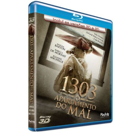 Blu-ray 3d + 2d - 1303 - O Apartamento Do Mal