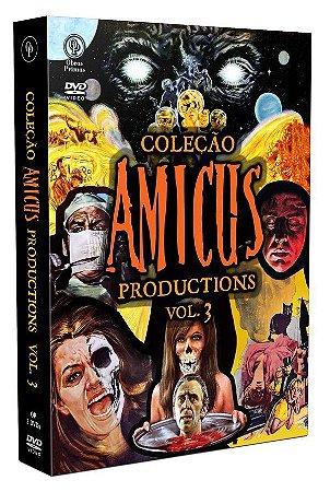 DVD  Coleção Amicus Productions Vol. 03