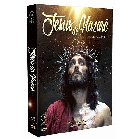 Dvd Jesus De Nazaré - A Minissérie Completa (3 Dvds)