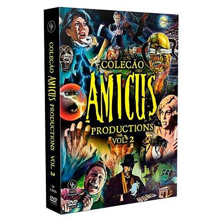 DVD  Coleção Amicus Productions Vol. 02