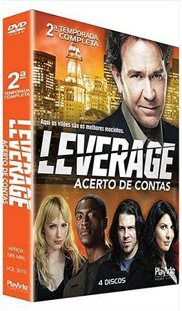 BOX DVD Leverage: 2ª Temporada (4 Discos)