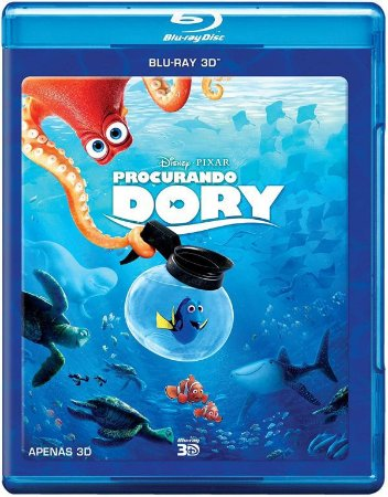 Blu-Ray 3d - Procurando Dory