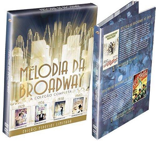 DVD - Melodia da Broadway - A Coleção