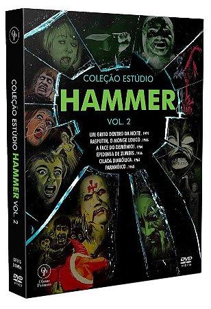 Dvd - Box Coleção Estúdio Hammer Vol.2
