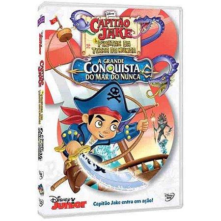 Dvd - Capitão Jake - A Grande Conquista Do Mar Do Nunca