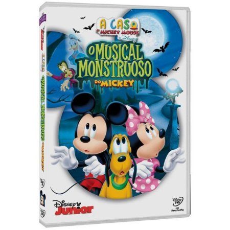DVD A Casa Do Mickey Mouse - O Musical Monstruoso