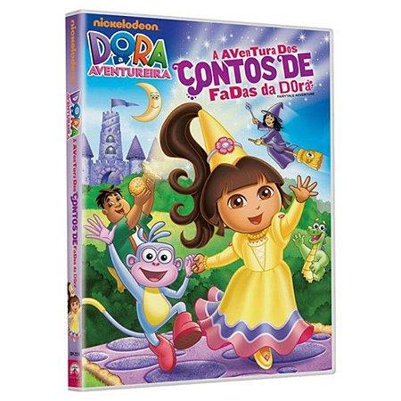 DVD - Dora a Aventureira - A Aventura dos Contos de Fadas
