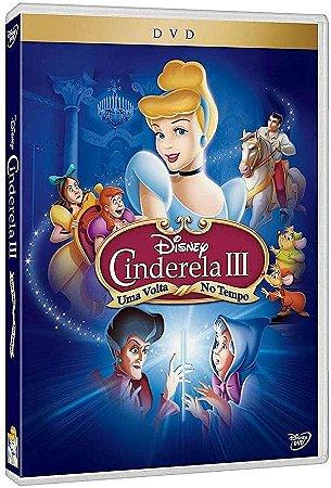 DVD Cinderela 3 - Uma Volta no Tempo