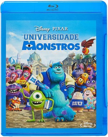 Blu-Ray Universidade Monstros
