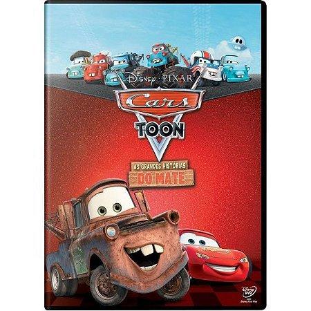 Dvd - Cars Toon - As Grandes Histórias Do Mate