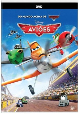 DVD - Aviões - Do Mundo Acima de Carros