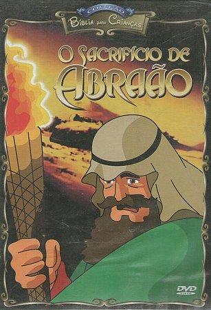 DVD O Sacrificio de Abraão - Biblia para Crianças