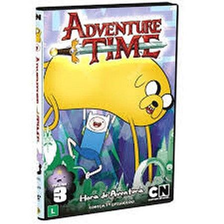 DVD - Adventure Time - Hora de Aventura Volume 3