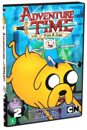 Dvd Adventure Time - Hora Da Aventura - Vol. 2