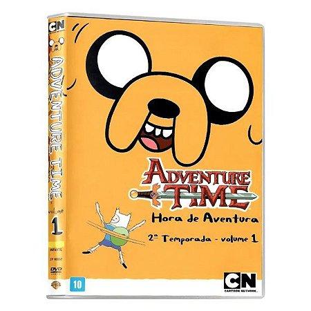 DVD Adventure Time - Hora de Aventura - 2 temporada Vol 1