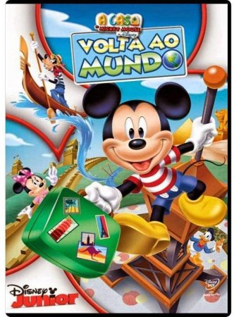 DVD A Casa Do Mickey Volta Ao Mundo