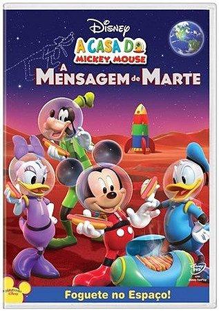 DVD A Casa do Mickey Mouse: A Mensagem de Marte