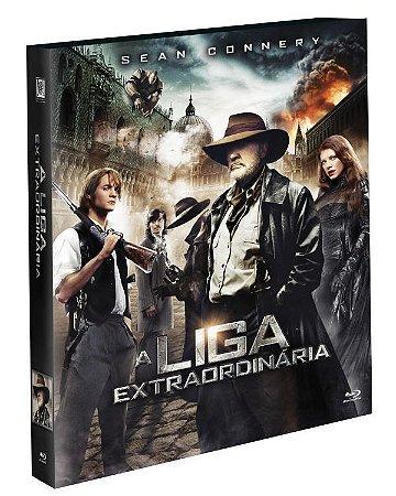 Blu-ray A Liga Extraordinaria -  (Exclusivo com Luva)