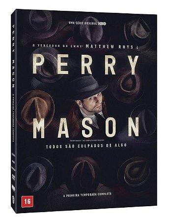 DVD Perry Mason: A Primeira Temporada Completa