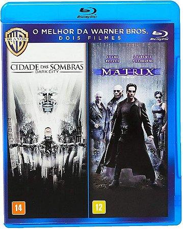 Blu-Ray Cidade Das Sombras + Matrix