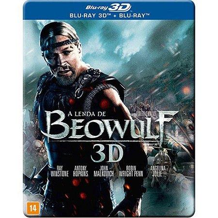Blu-Ray 2D + Blu-Ray 3D - A Lenda De Beowulf