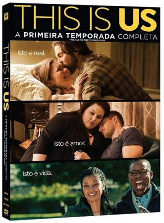 DVD This Is Us - 1ª Temporada - 5 Discos