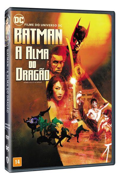 DVD Batman - A Alma do Dragão