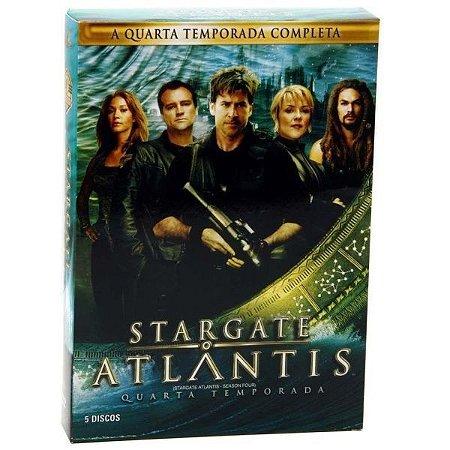 DVD Box Stargate Atlantis - 4ª Temporada Completa (5 DVDs)