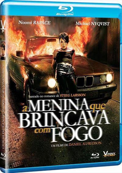 Blu-Ray - Millenium II: A Menina que Brincava com Fogo
