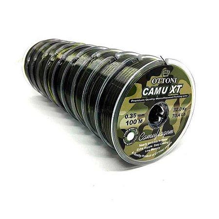 1000m Linha Monofilamento Camu XT 0,35mm
