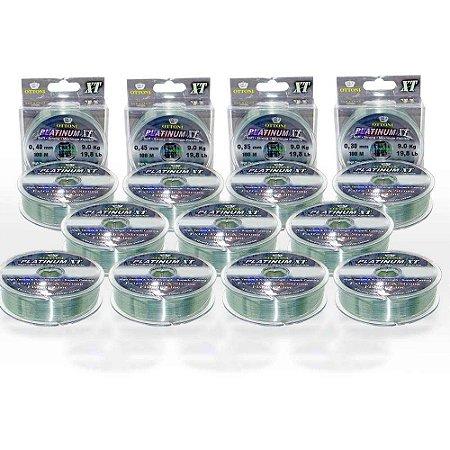 1100 Linha Monofilamento Platinum XT 0,30-0,35-0,40-0,45