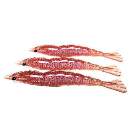 3 Isca artificial Camarão JET Shrimp Nihon 11cm - POLAQUINHO