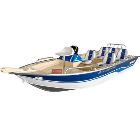 Barco Black Fish 16 com comando - Casco a partir de R$ 20.900,00