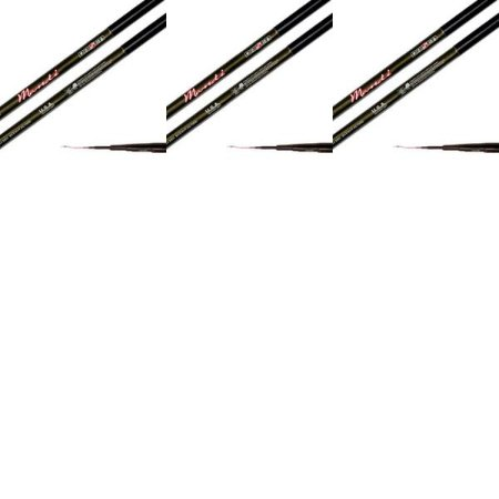 2x Vara Telescóp Daisen Mandi 4,50m + 4x 5,40m + 1x 6,30m