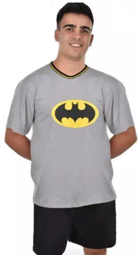 Pijama Pai Adulto Batman Curto Verão