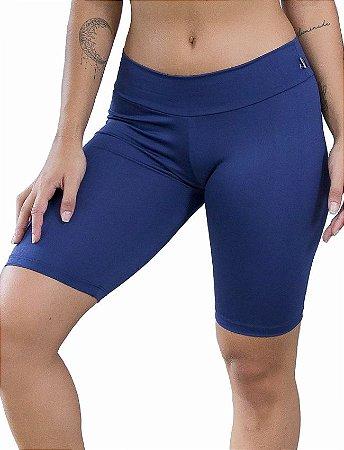 Bermudão Fitness Feminino Suplex Liso