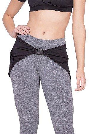 Tapa Bumbum Suplex Feminino Fitness Preto