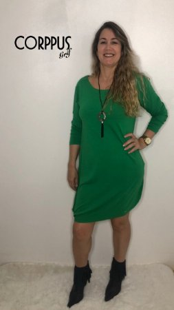 Vestido Fashion Verde