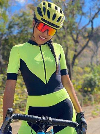 Macaquinho Ciclismo Fluor