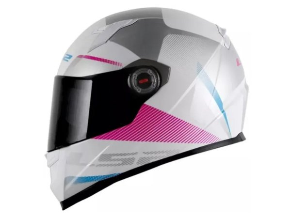 Capacete LS2 FF358 Tyrell White violet