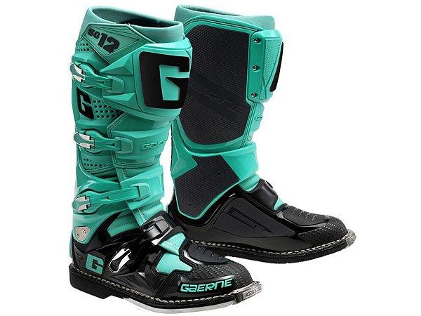 Bota Gaerne SG12 Aqua Black Special Edition