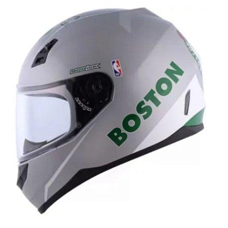 Capacete  Norisk FF391 NBA Boston Celtics Silver