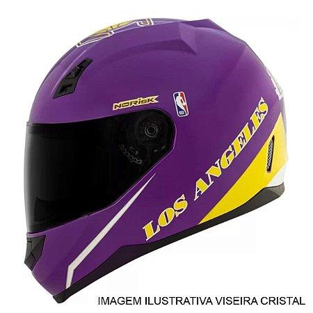 Capacete Norisk FF391 NBA Los Angeles Lakers Roxo